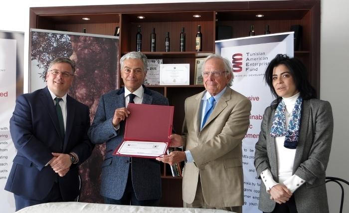 Le Tunisian American Enterprise Fund (TAEF) finance et accompagne le développement de la société Biolive «Domaine de Segermès»